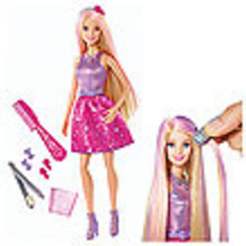 Barbie Color and Style Hair Doll