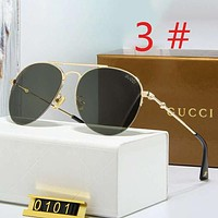 GUCCI Fashion New Polarized Women Men Glasses Sun Shades Eyeglasses