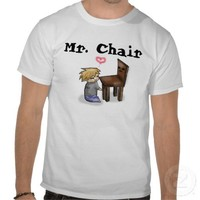 Mr. Chair Pewdiepie Shirt from Zazzle.com