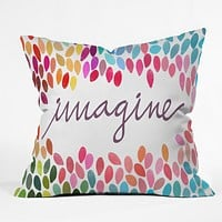 Garima Dhawan Imagine 1 Throw Pillow