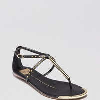 DV Dolce Vita Flat Thong Sandals - Apollo Studded | Bloomingdale's