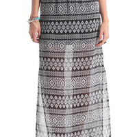 LA Hearts 2 Side Slit Maxi Skirt at PacSun.com