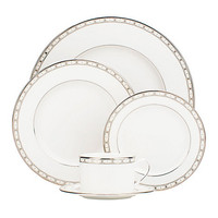 Kate Spade Signature Spade Five-Piece Place Setting White ONE