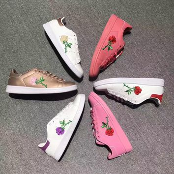 Adidas Stan Smith Rose Embroidery Sneaker