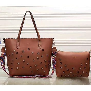 shosouvenir £º COACH Women Shopping Leather Tote Handbag Shoulder Bag