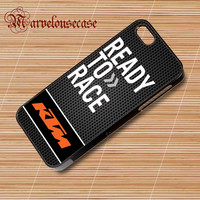KTM Ready To Race Motorcycle Logo  custom case for all phone case