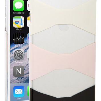 kate spade new york 'bow tiles' iPhone 6 Plus case - Pink