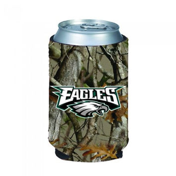 Philadelphia Eagles Hunting Camo Can Koozie