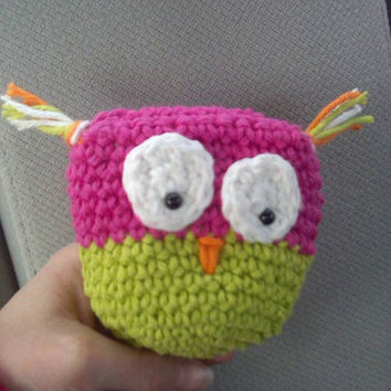 Crochet owl coin purse / owl coin purse / coin purse / crochet coin purse / gift ideas / tween coin purse