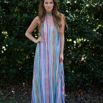 Colors of the Rainbow Dress