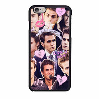 paul wesley vampire diaries iphone 6 6s 4 4s 5 5s 5c cases