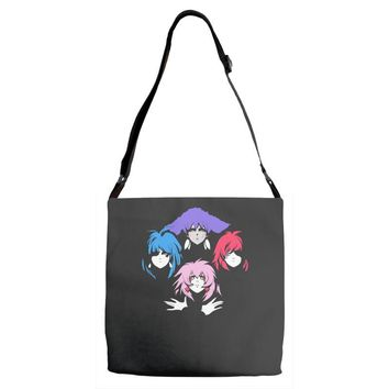 bohemian holograms Adjustable Strap Totes