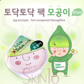 It's Skin Todak Todak Pack Pore Care (Wash off Mask) with Apple & Egg white
