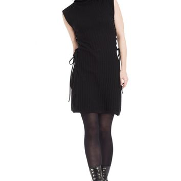 Jawbreaker Knitted Turtle Neck Dress