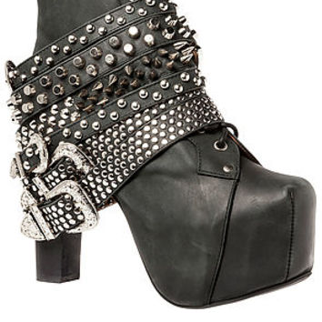 Jeffrey Campbell Shoe The Lita Strap in Black