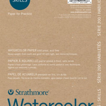 200 Series Watercolor Paper by Strathmore