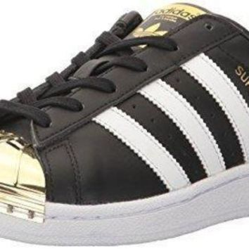 CREY9N adidas Originals Women's Superstar Metal Toe W Skate Shoe womens adidas sneaker
