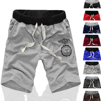 High quality bermudas masculina de marca Shorts men beach Short board Male sport shorts men's basketball running boardshorts