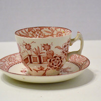 Vintage Wood & Sons Teacup and Saucer Made in England PanchosPorch