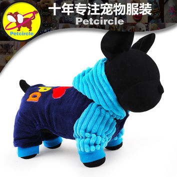 Petcircle Fashion I love papa and mama  winter Pet Dog Clothes Clothing For Pet Small Large Dog Coat Winter Clothes Jackets