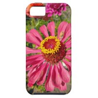 Pink Flower iPhone 5/5S Case from Zazzle.com