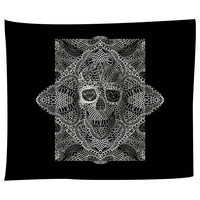 Skull Laces Tapestry