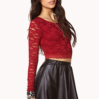 Romantic Lace Crop Top