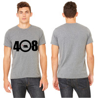area code 408 T-shirt