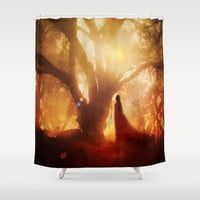 Autumn Song.. Shower Curtain by Viviana Gonzalez | Society6