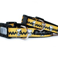 Hey Snoopy Dog Collar