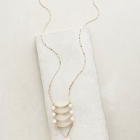 Angelique Ladder Necklace by Anthropologie in Gold Size: One Size Necklaces