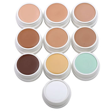 IMAGIC Face Concealer Cream  Makeup Primer  Pore Wrinkle Cover Pores Concealer Foundation Base Long Lasting Make Up 10 Color