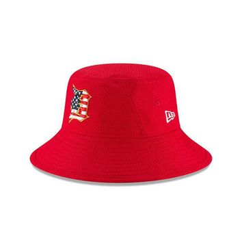 MLB Detroit Tigers Stars and Stripes 4th Of July Bucket Hat