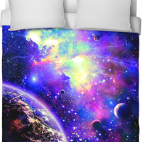 Galaxy Bedroom Blanket