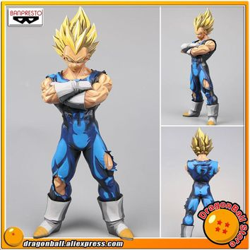 "Japan Anime ""Dragon Ball Z"" Original Banpresto Grandista Collection Figure - SUPER SAIYAN VEGETA Manga Dimensions"