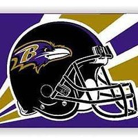 Baltimore Ravens Outdoor 3x5 Flag Banner Helmet Football NFL