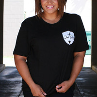 OFB Back The Blue T-Shirt ~ Black ~ Sizes 12-18