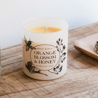 Orange Blossom & Honey Gift Candle