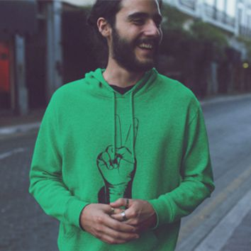 Two Fingers Up Hoodie