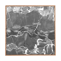Emanuela Carratoni Grey Marble Framed Wall Art