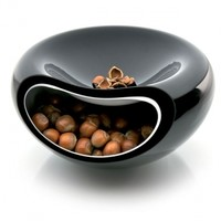 Smiley bowl, black