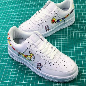 Takashi Murakami X Doraemon X Nike Air Force 1 Af1 Low Sport Shoes - Best Online Sale