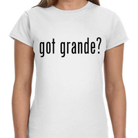 Got Grande Ariana Ladies Softstyle Junior Fit Tee Cotton Jersey Knit Gift Shirt