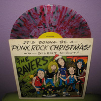 Rare Vinyl Record Punk Rock Christmas EP/LP 1978 The Ravers Rock N Roll