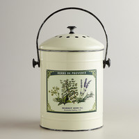 Metal Herb Compost Bucket - World Market
