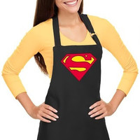 Superman Apron Womens