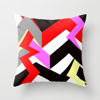 chevron Throw Pillow by abstracthands