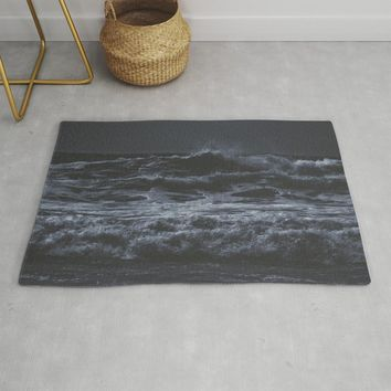 Where is my mind? Rug by duckyb