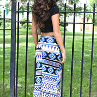 Made in the Shade Maxi Skirt