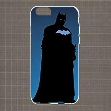 DC Marvel Heroes Silhouette 05 iPhone 4/4S, 5/5S, 5C Series Hard Plastic Case